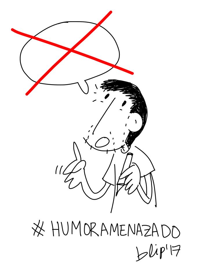 #HUMORAMENAZADO