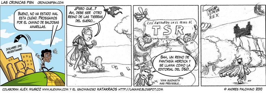 Crónica #569: TSR