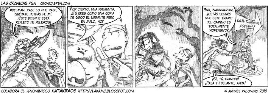 Crónica #575: YO PRIMERO