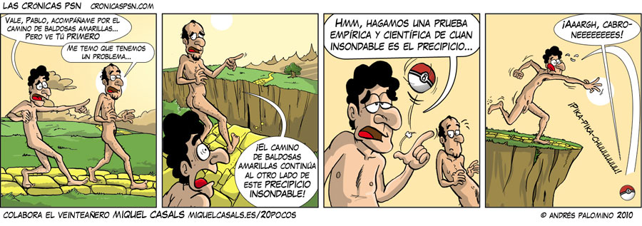 Crónica #579: PRECIPICIO
