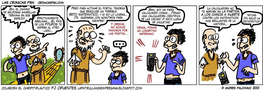 Crónica #586: RETO MATEMÁTICO