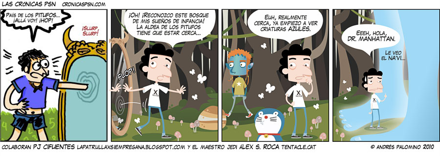 Crónica #589: AZUL