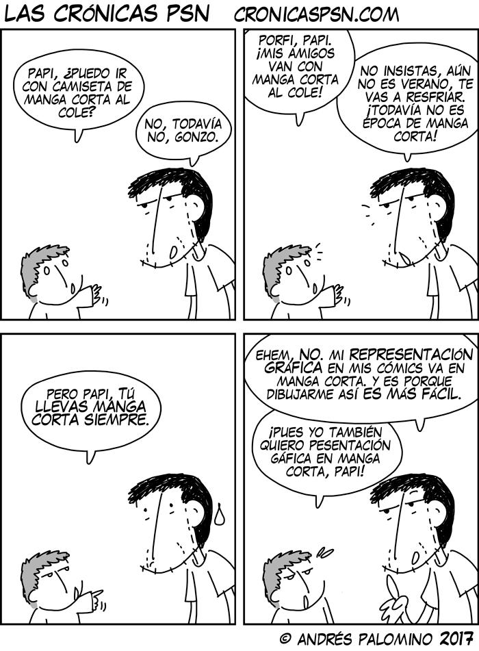 CPSN: MANGA CORTA