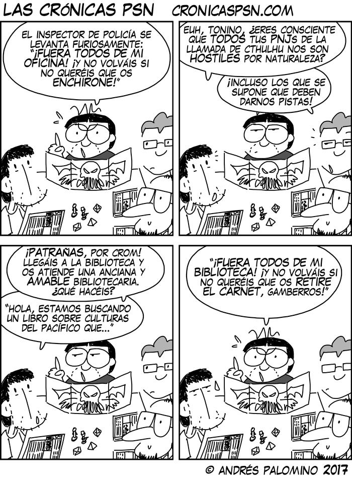 CPSN: EN TIERRA HOSTIL
