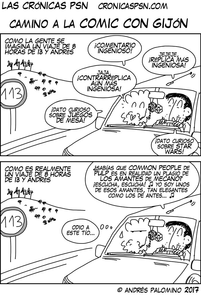 CPSN: CAMINO A LA COMIC CON GIJÓN