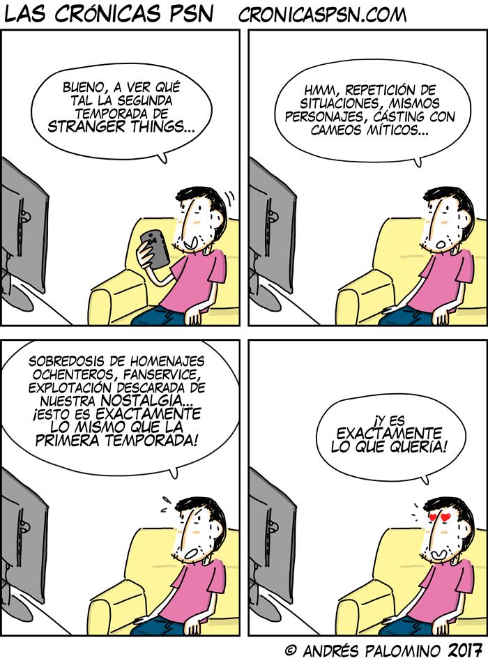 CPSN: MÁS STRANGER DE LO MISMO
