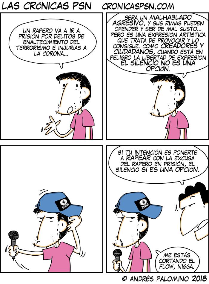 CPSN: RAPEROS A LA CÁRCEL