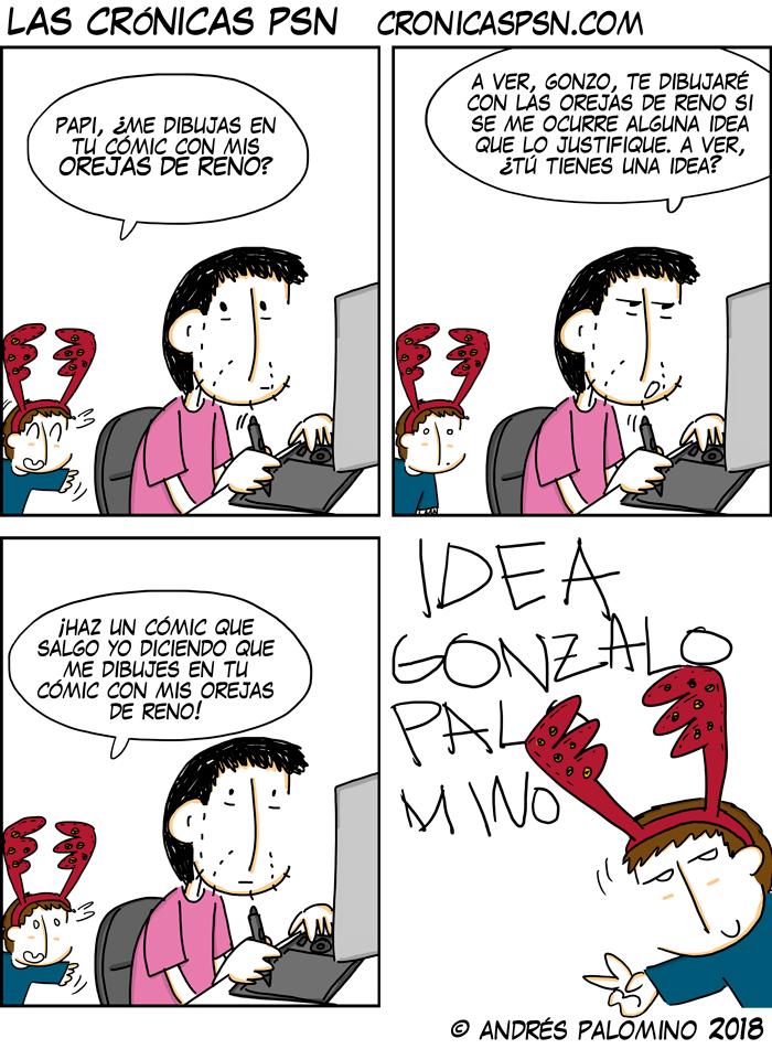 CPSN: OREJAS DE RENO