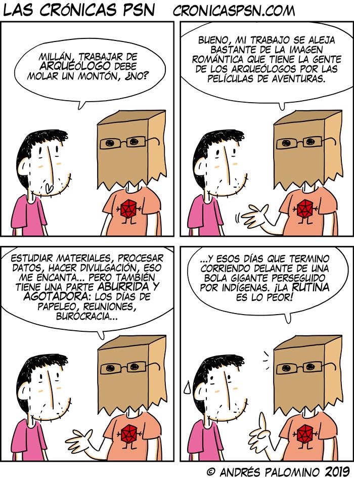CPSN: ARQUEÓLOGO