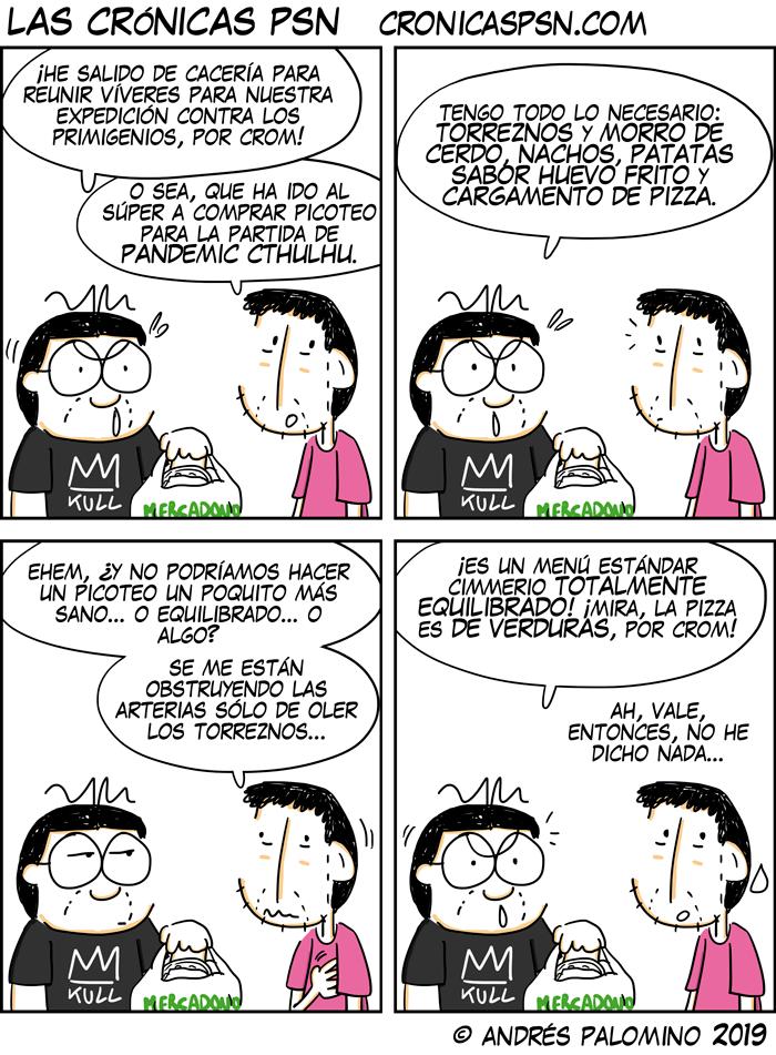 CPSN: CAZA EQUILIBRADA