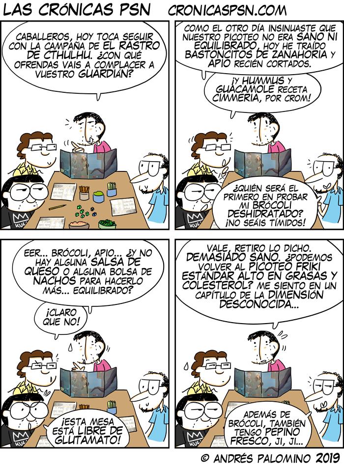 CPSN: OFRENDAS IMPÍAS