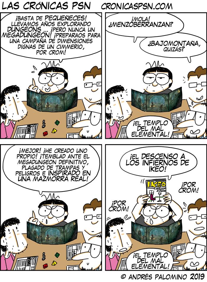 CPSN: MEGADUNGEON