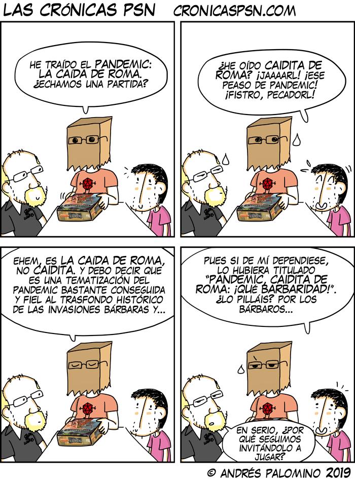 CPSN: PANDEMIC CAIDITA DE ROMA