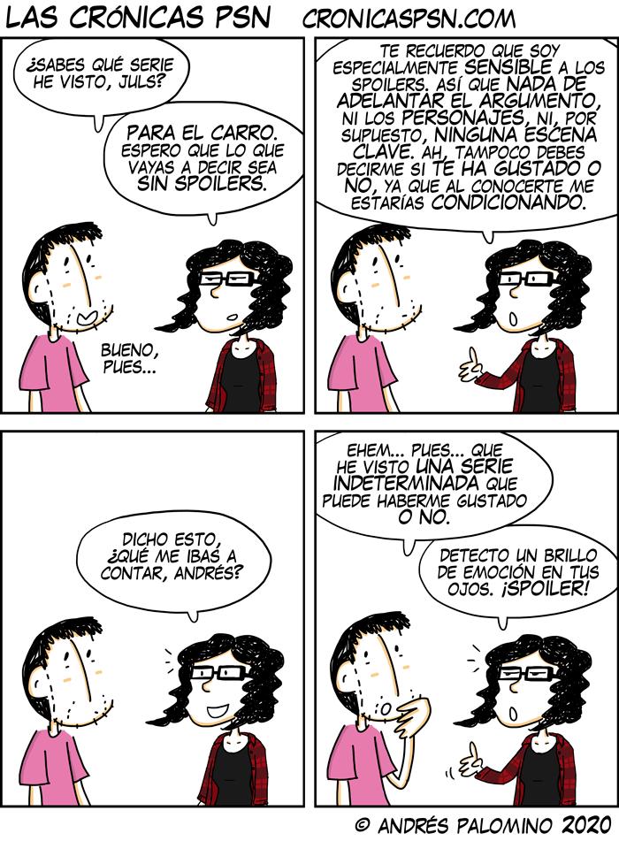 CPSN: SPOILEANDO