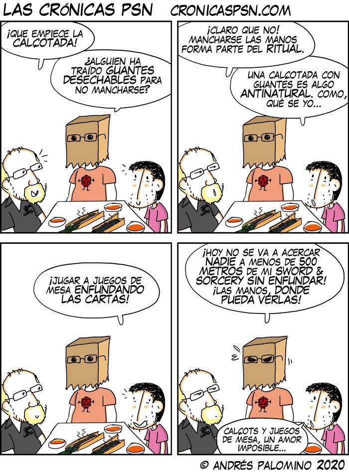CPSN: CALÇOTS & SORCERY