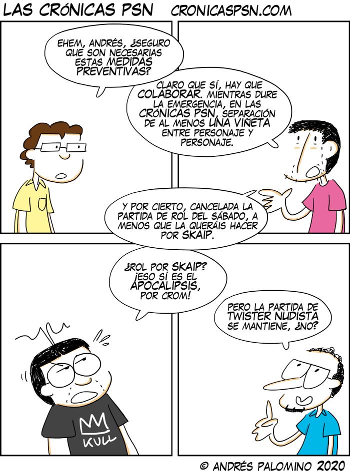 CPSN: MEDIDAS PREVENTIVAS