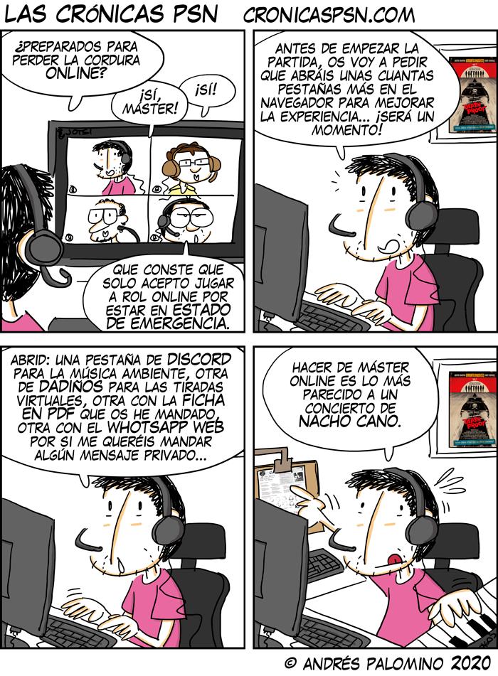 CPSN: ROL ONLINE CONFINADO