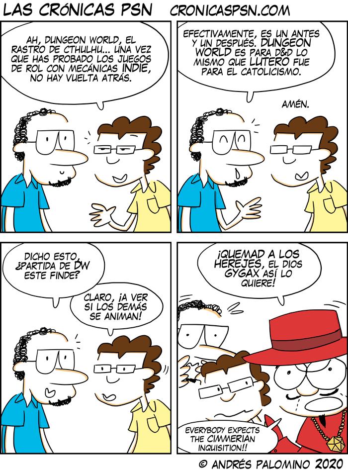 CPSN: LUTERANISMO ROLERO