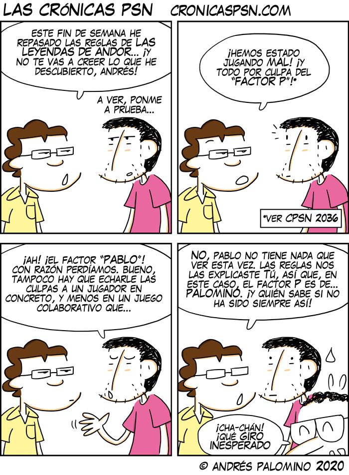 CPSN: EL VERDADERO «FACTOR P»