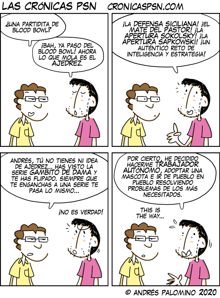 CPSN: GAMBITO DE DAMA