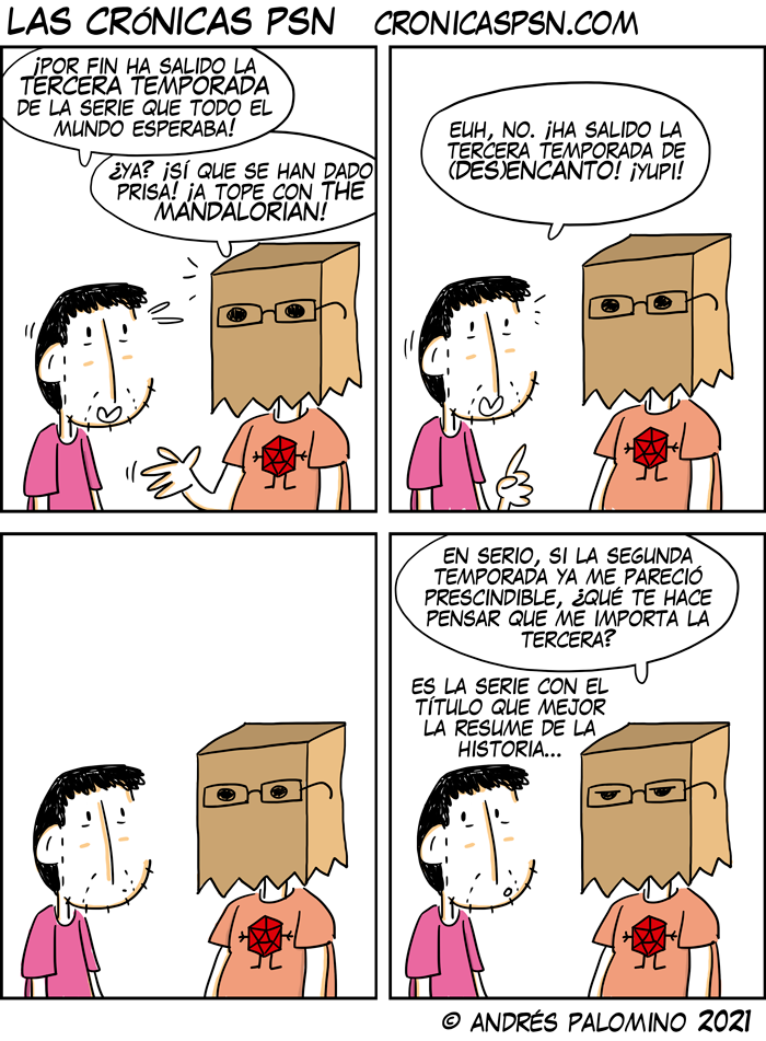 CPSN: DESENCANTO
