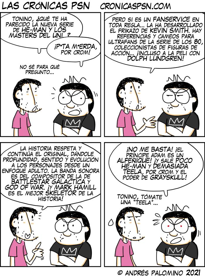 CPSN: MÁSTERS DEL UNIVERSO REVELACIÓN