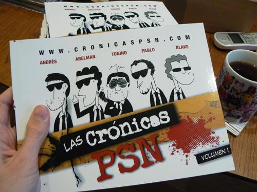 ¡Por fin! ¡El volumen 1 de las Crónicas PSN en mis manos!