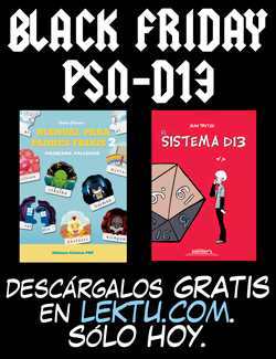 Black Friday PSN-D13 descargar comics gratis