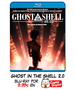 Ghost in the Shell 2.0 en Blue Ray