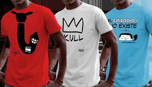 Camisetas de las Crónicas PSN
