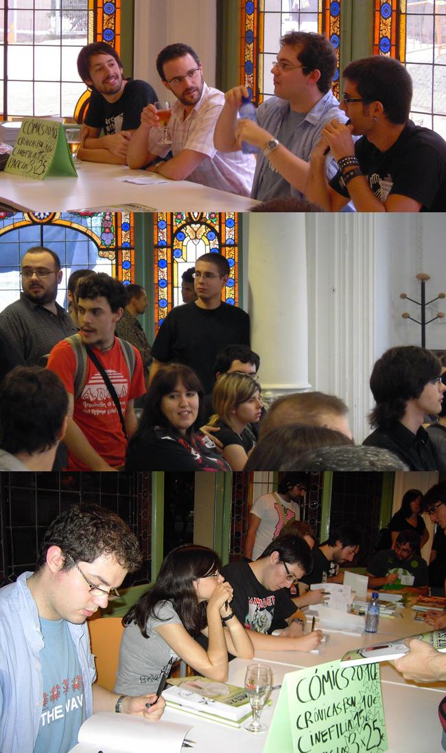 Fotos Presentación CÓMICS 2.0 en BCN