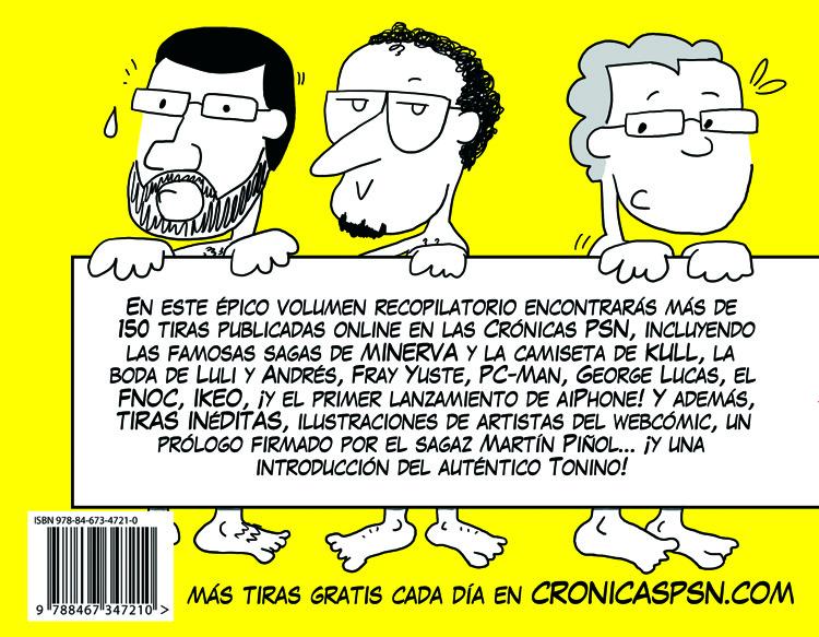 Contraportada de Crónicas PSN vol. 2