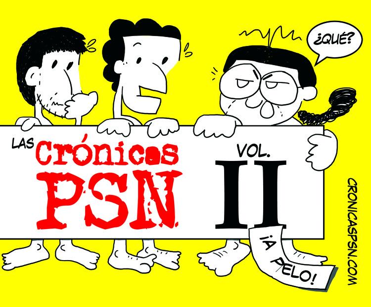 Portada de Crónicas PSN vol. 2
