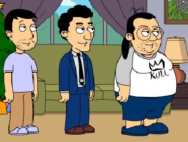 Modelo de personajes de las CPSN animadas XD