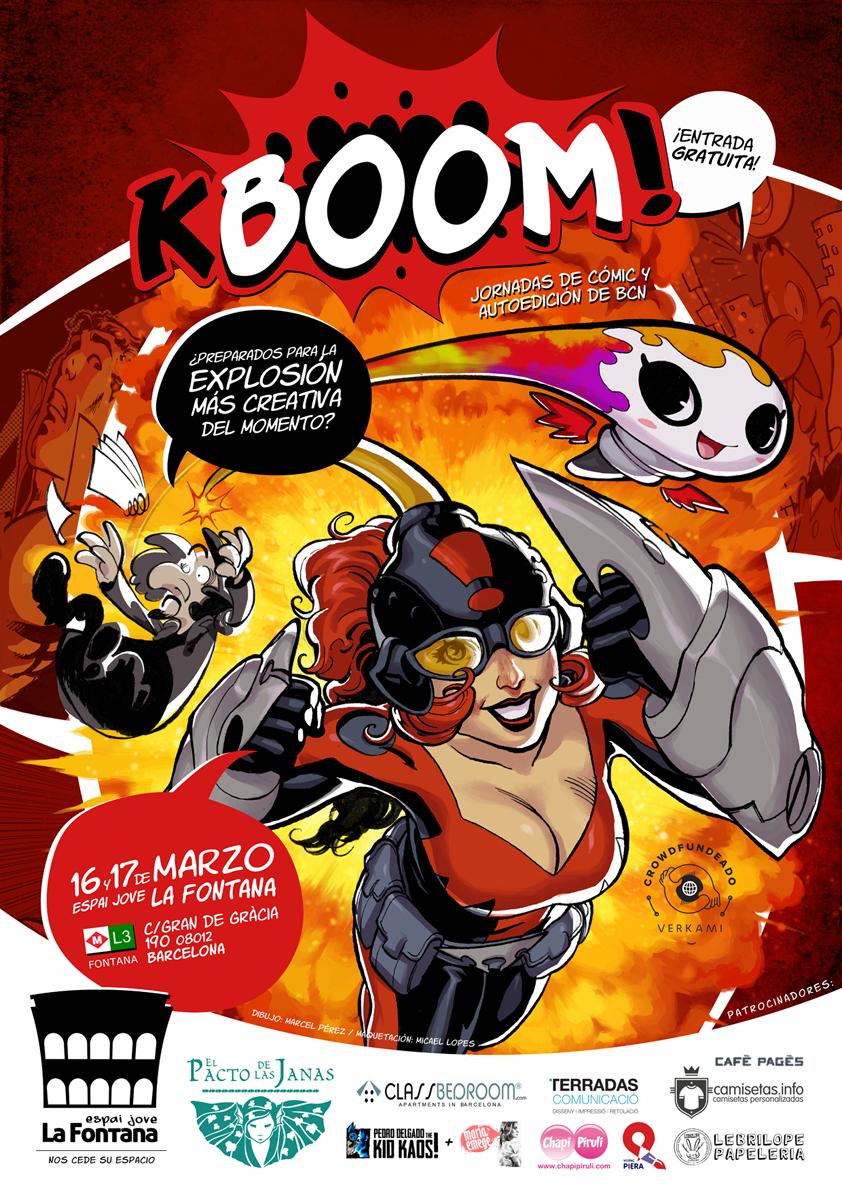 KBOOM! Jornadas de Cómic y Autoedición de BCN