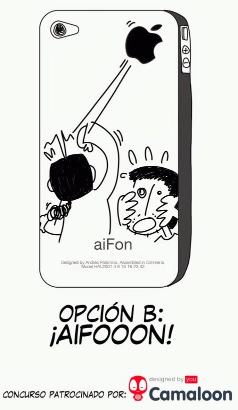 Diseño ganador: ¡AIFOOON!