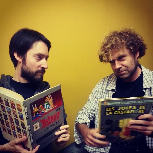 Asterix vs Tintín: Andrés vs Joan Tretze