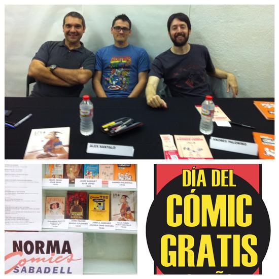 Día del Cómic Gratis en Norma Comics Sabadell