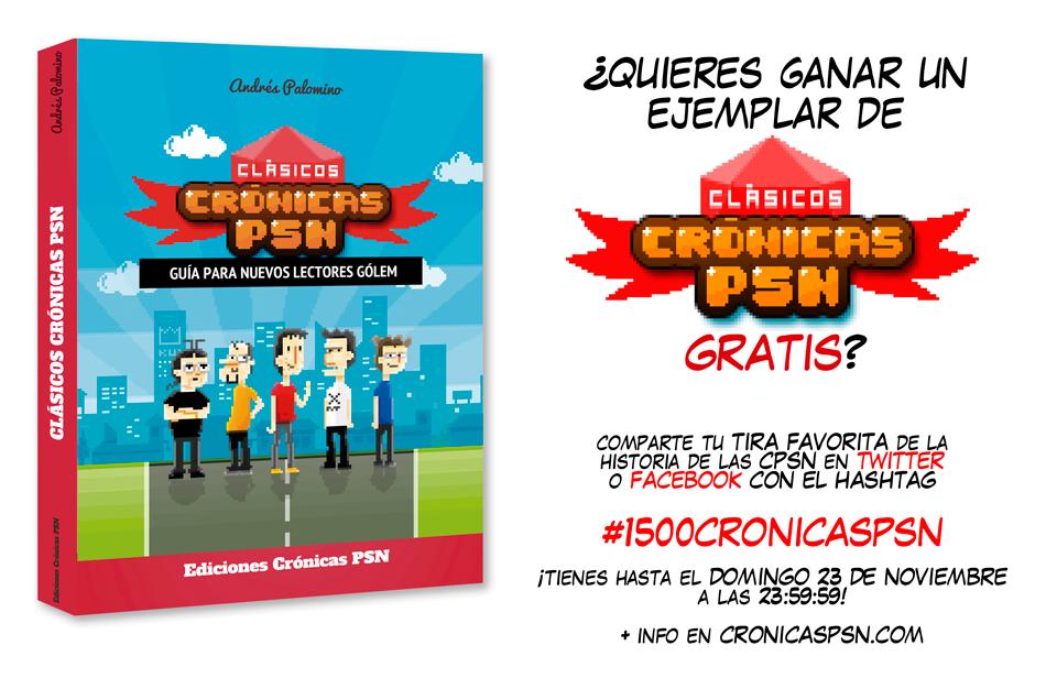 Concurso 1500 Crónicas PSN