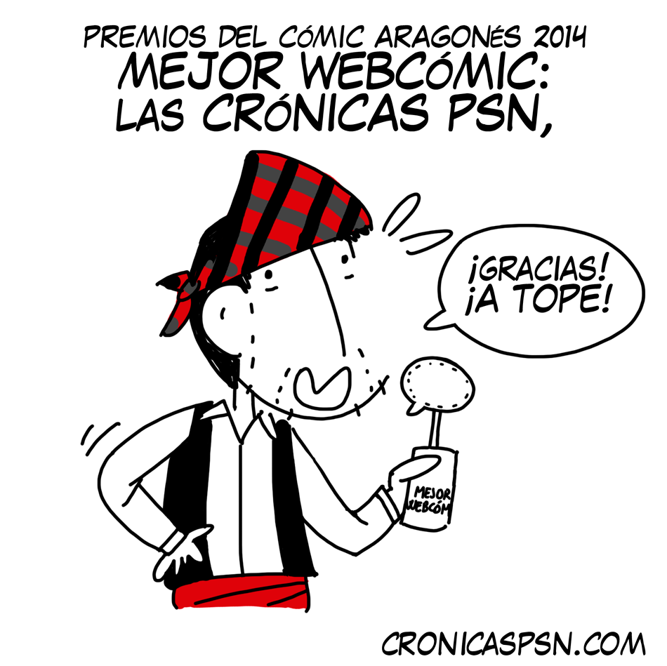 PREMIOS COMIC ARAGONES 2014
