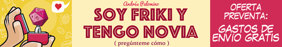 Banner SOY FRIKI Y TENGO NOVIA