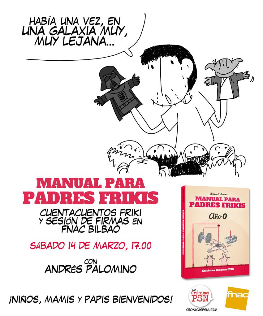 Cuentacuentos friki FNAC Bilbao