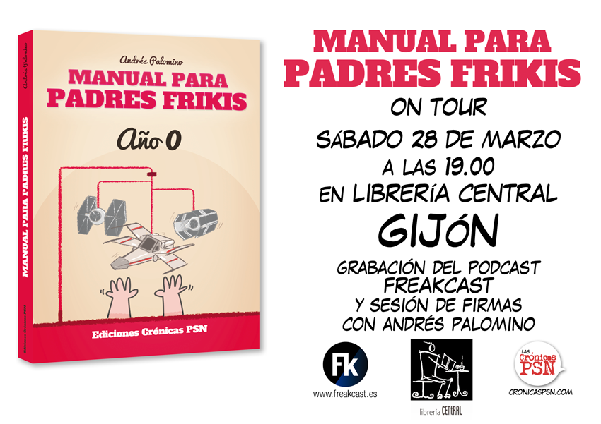manual padres frikis GIJON central