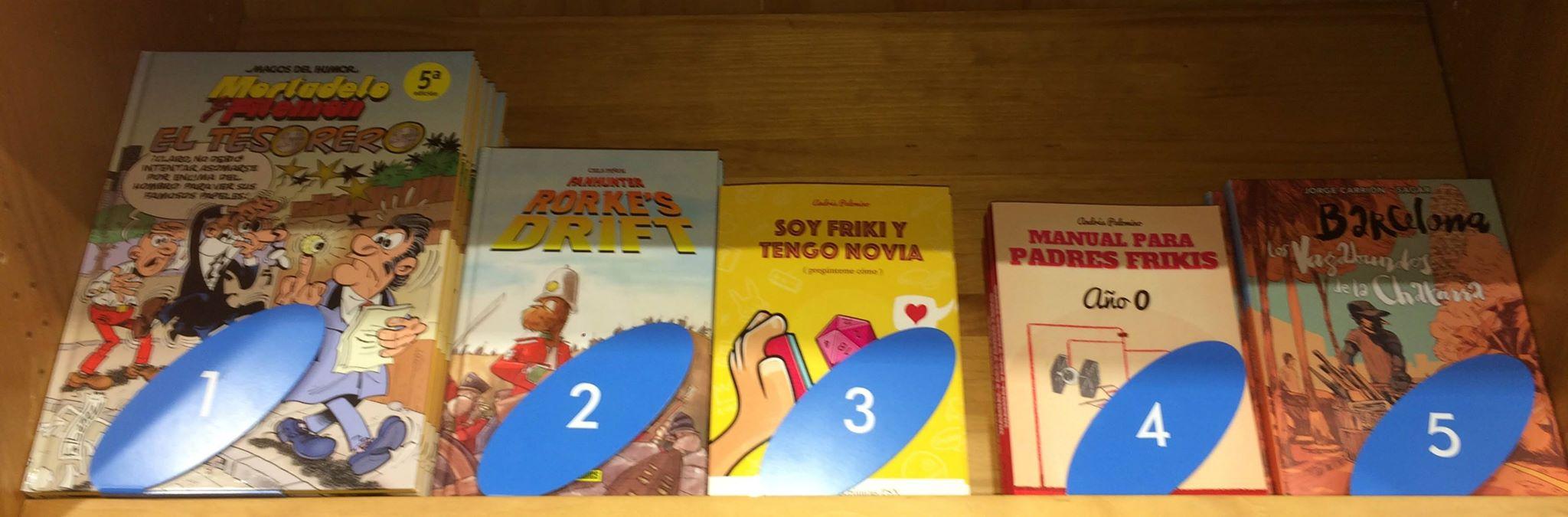 top 5 cómics más vendidos gigamesh sant jordi