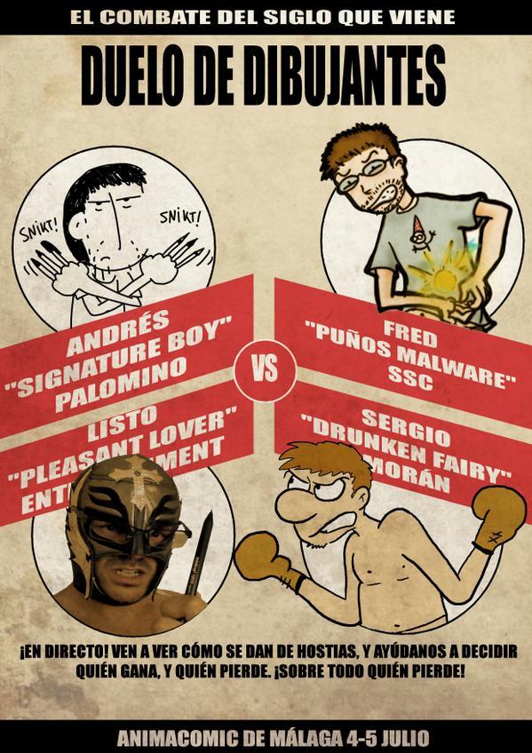 Duelo de dibujantes Animacómic