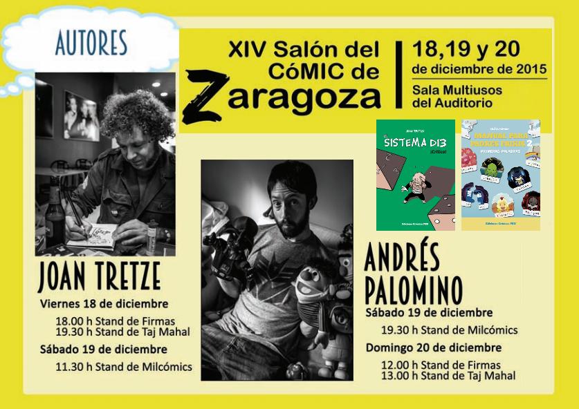 joan tretze y blip en Zaragoza