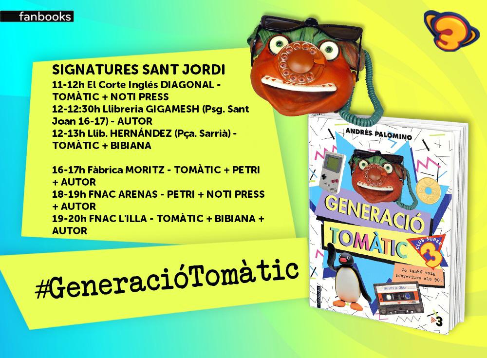 Andrés Palomino Sant Jordi Generació tomàtic