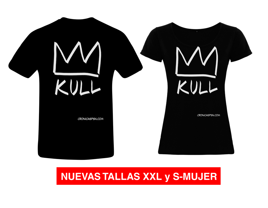 CAMISETA KULL BLACK SPECIAL LIMITED EDITION