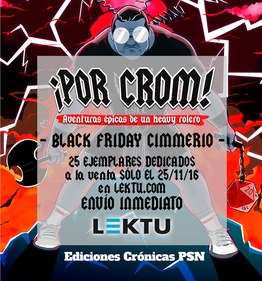 black friday por crom lektu