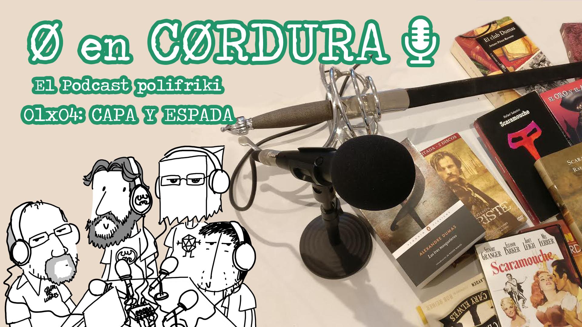 CERO EN CORDURA CAPA Y ESPADA